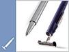Hochwertige Schreibgeräte, die im Handumdrehen zum Stempel werden.
